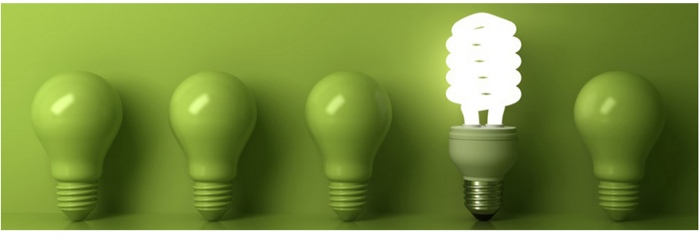 green-light-bulbs